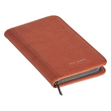 Ted Baker Tan Brogue Travel Documents Holder