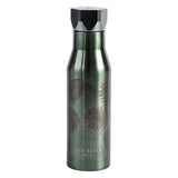 Ted Baker Khaki & Palm Hexagonal Lid Water Bottle 425ml