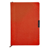 Ted Baker Orange A5 Brogue Geo Notebook