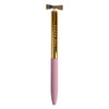 Ted Baker Pink & Gold Bow Pen