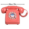 Retro 746 Burnt Terracotta Telephone