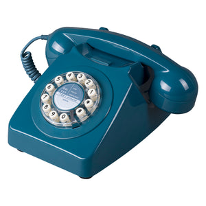 Retro 746 Biscay Blue Telephone