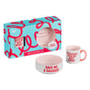 Wild & Woofy Dog Mug & Bowl Set