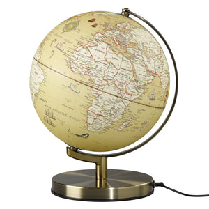 Wild Wood 10 Inch Vintage Globe Light