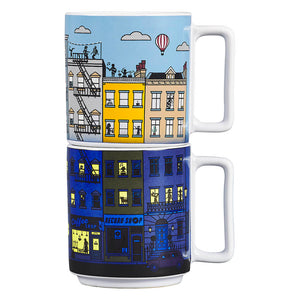 Yes Studio Heat Sensitive Stacking Mugs Set of 2