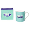 Yes Studio '110% Tired' Ceramic Mug