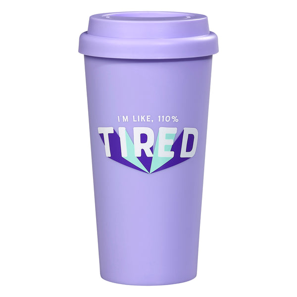 Yes Studio 110% Tired Travel Mug