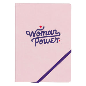Yes Studio A5 Notebook, 'Woman Power'