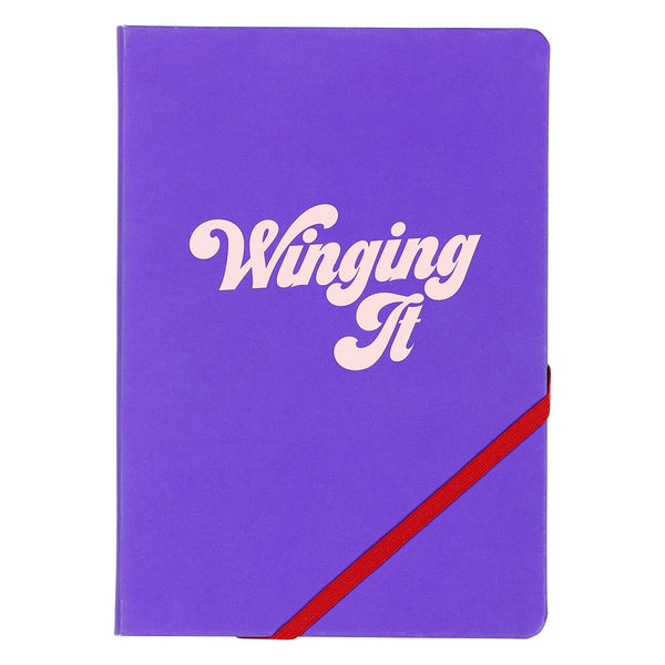 Yes Studio A5 Notebook, 'Winging It'