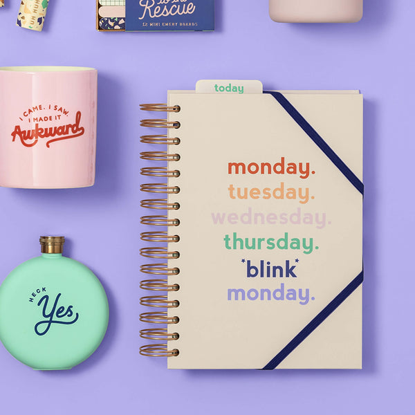 Yes Studio Power Planner, 'Monday Blink'