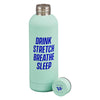 Yes Studio 'Drink, Stretch' Water Bottle