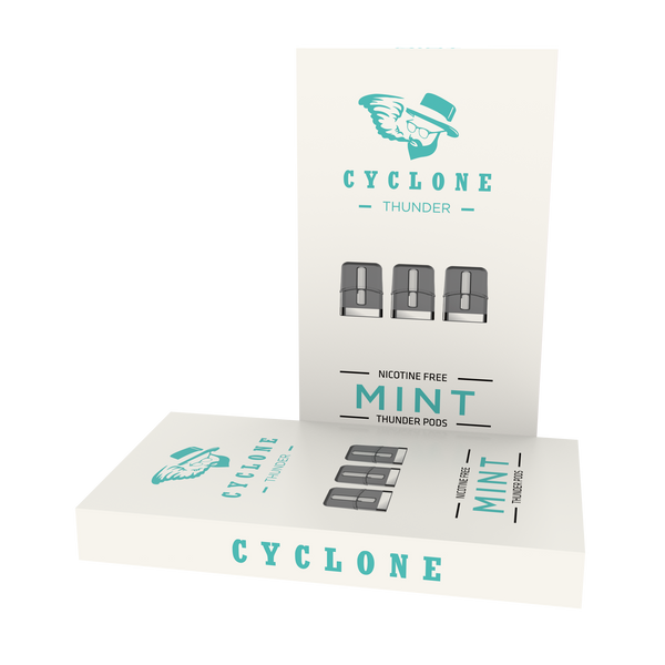 Nicotine Free Thunder Mint Pods