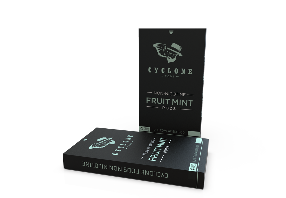 Nicotine Free Fruit Mint