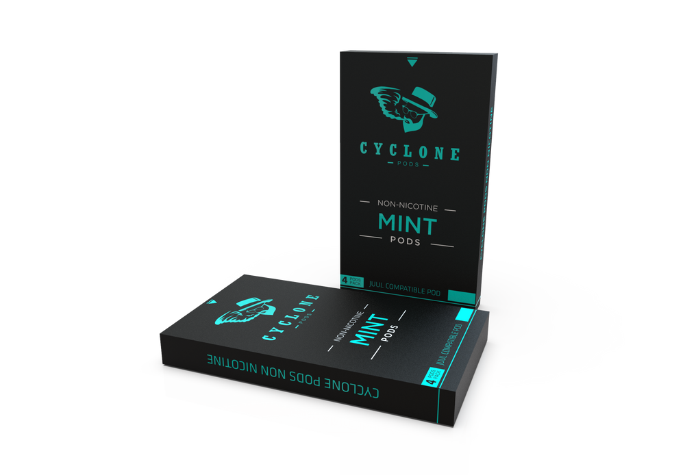 Nicotine Free Juul Compatible Pods – Cyclone Pods