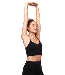 Manduka Darted Bra - Black