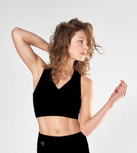 Urban Goddess Ananda Bra Top – Urban Black