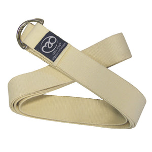 Yoga Mad Organic Cotton Yoga Belt - Natural