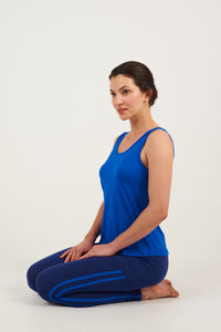 Asquith Pure Vest in Electric Blue