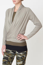 Asquith Blissful Wrap Long Sleeve Bamboo Yoga Top