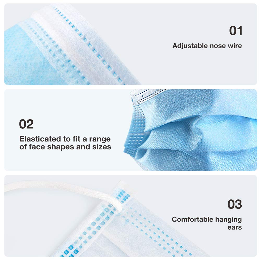 4-Ply Disposable Face Mask (50 pcs/box)