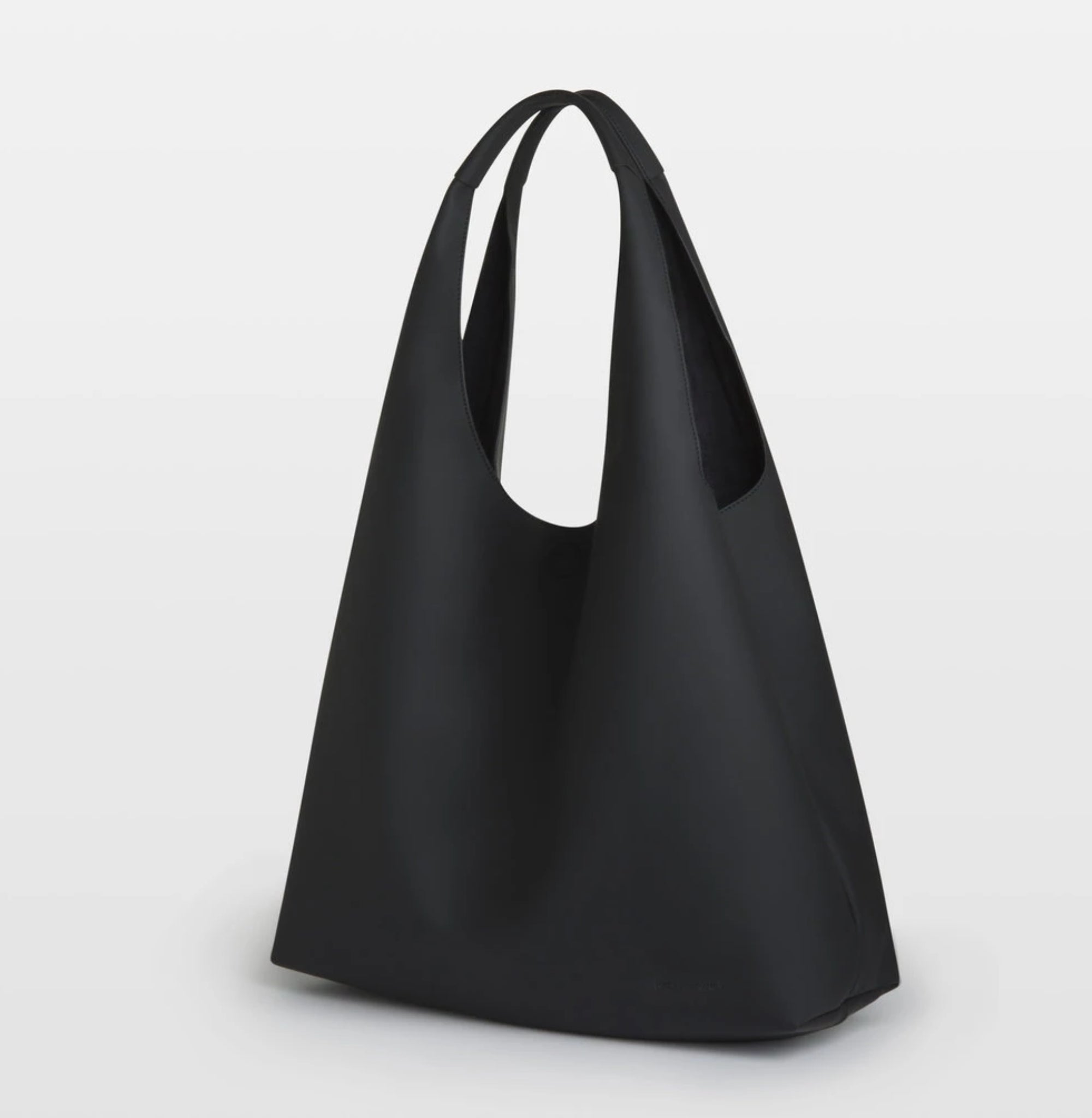 AVA Shopping Tote Bag- Black