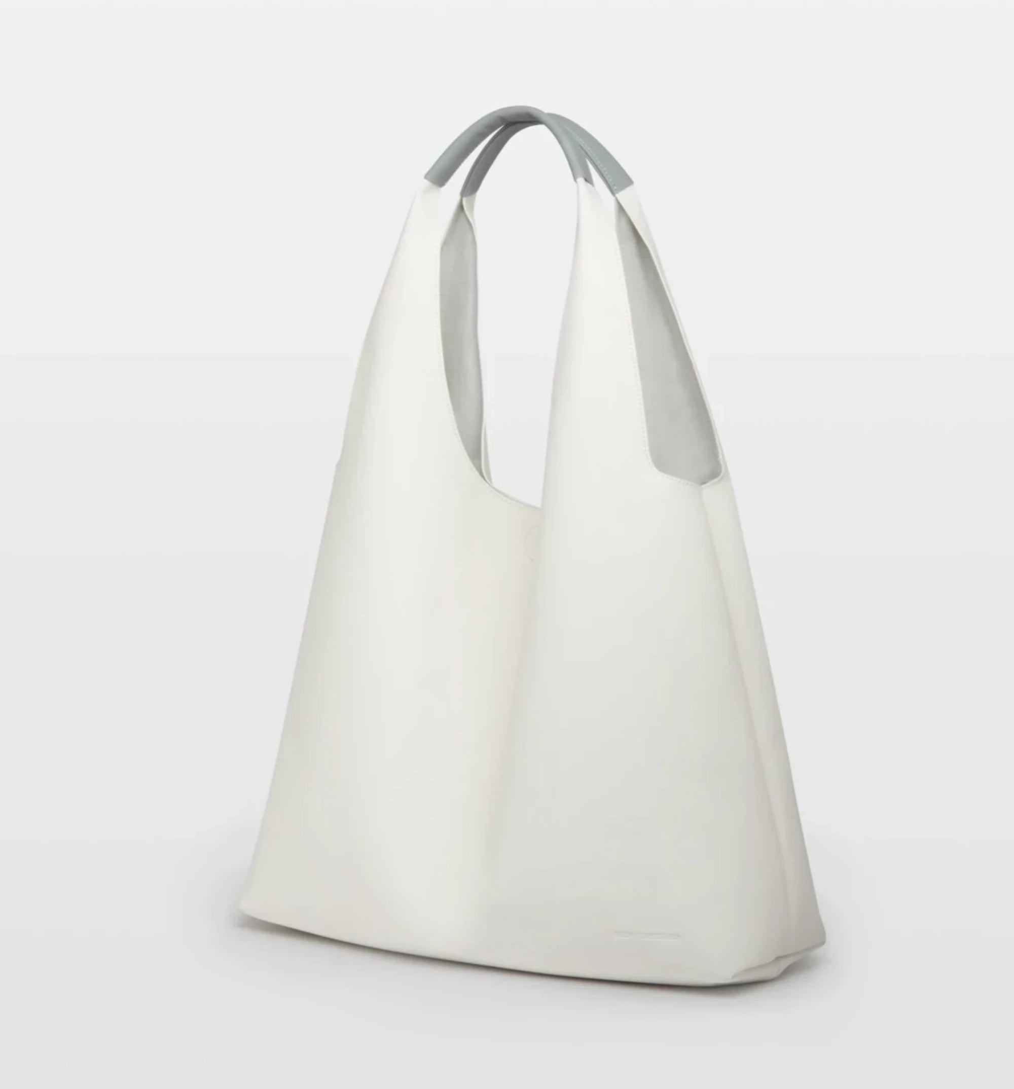 AVA Shopping Tote Bag- White