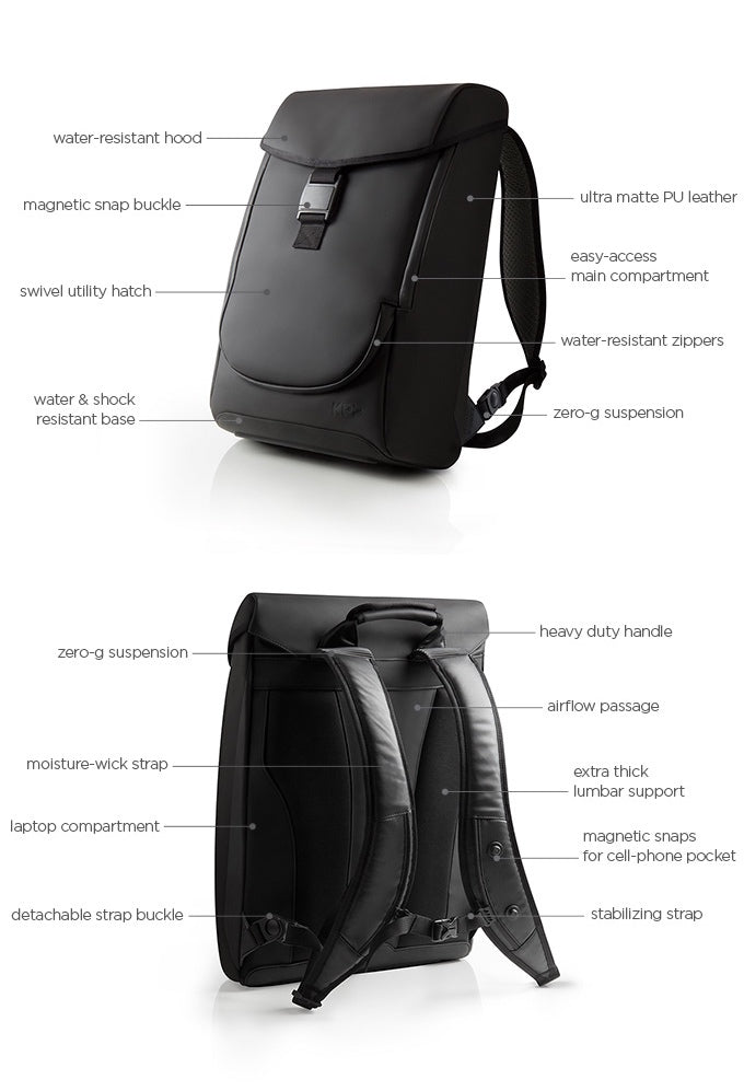 Zero-g Weight Reducing Backpack