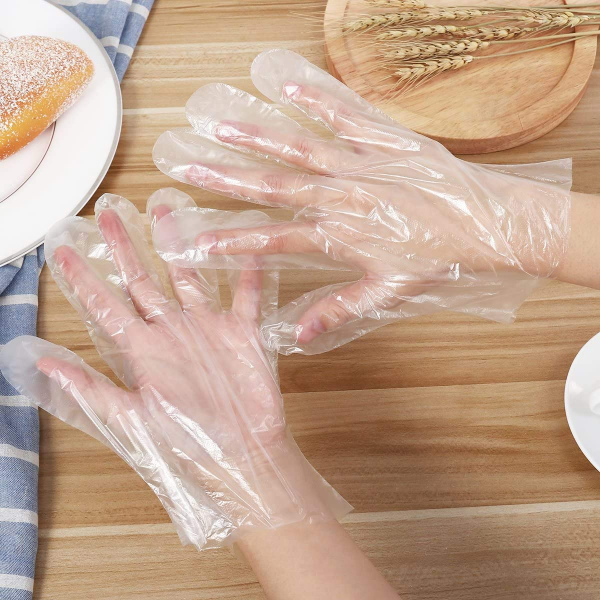 Plastic Service Gloves (500pcs)