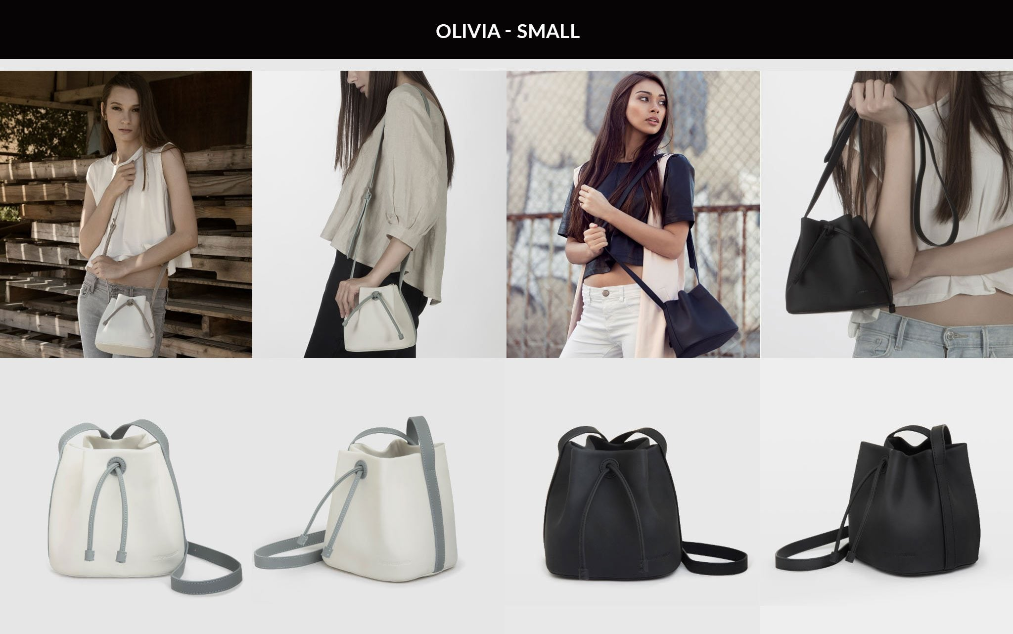 OLIVIA Bucket Bag - Small