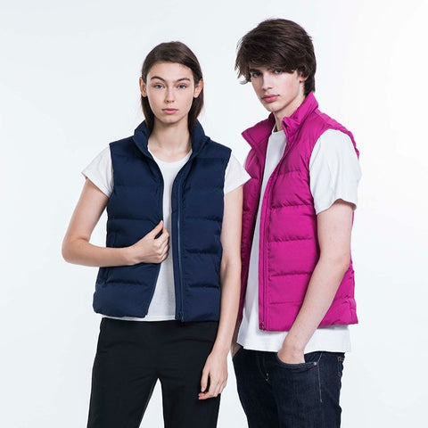 99% anti-bacteria adult unisex down vest