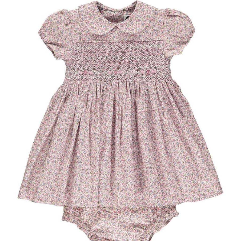 Elodie Smocked Dress - Lindsey Paige