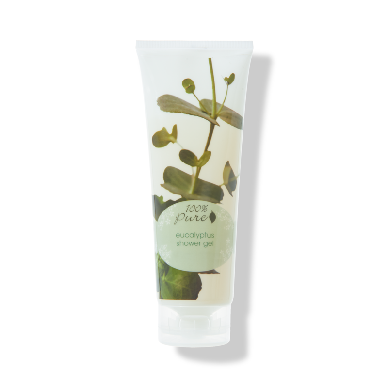 100% Pure Shower Gel in Eucalyptus