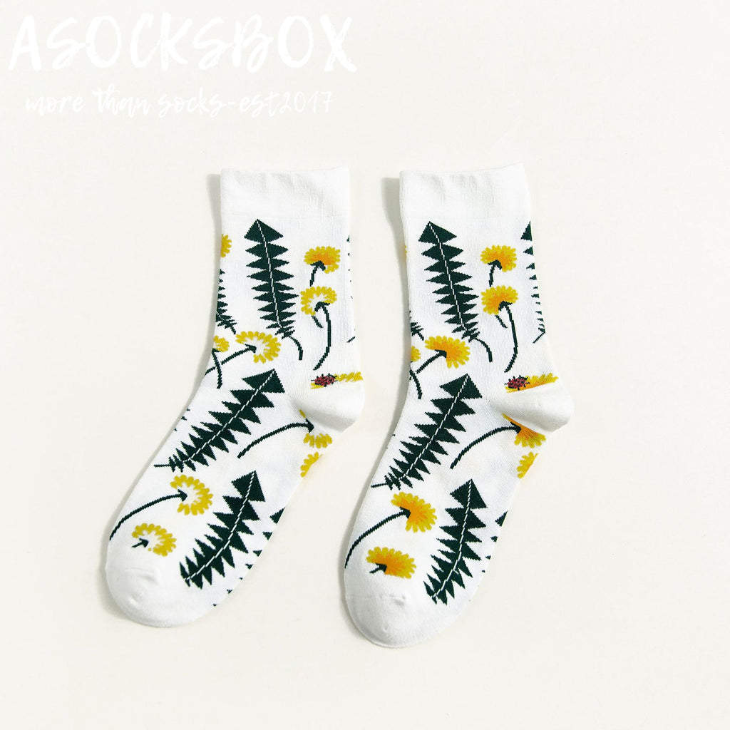 Be Your Sunflower Socks