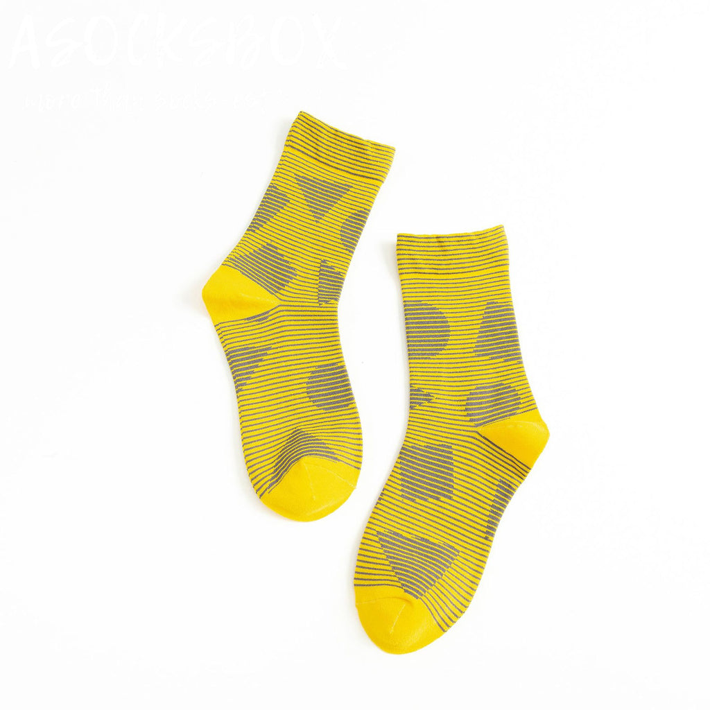 Gloden Area Socks
