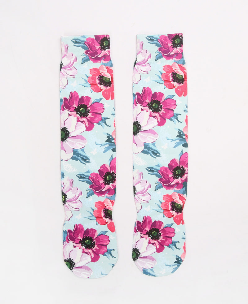 Customzied Sublimation Spring Flowers Art Style Socks - socksADRION's