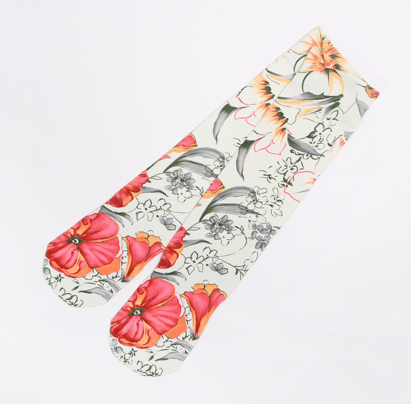 Customzied Sublimation Summer Flowers Art Style Socks - socksADRION's