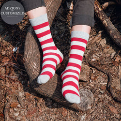 <3 Pairs Packed>Cotton Boys Lucky Tube Socks - socksADRION's