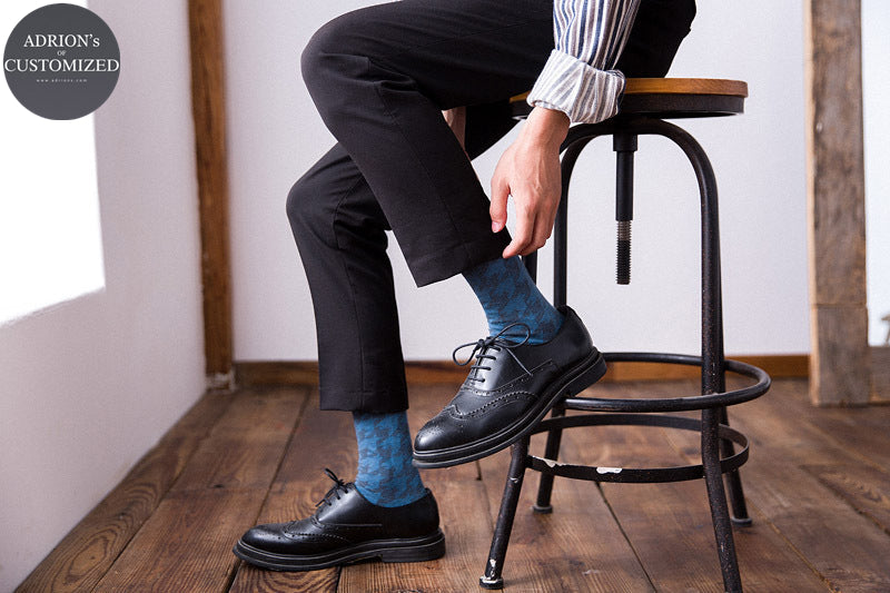 <6 Pairs Packed>Top Selling Bussiness Man Tube Socks - socksADRION's