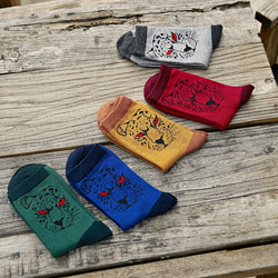 5 IN 1 Tiger Design Socks - socksADRION's