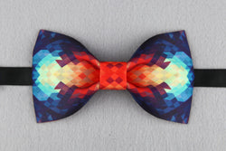 Mixed Color Design Self Tie Bow Ties - socksADRION's
