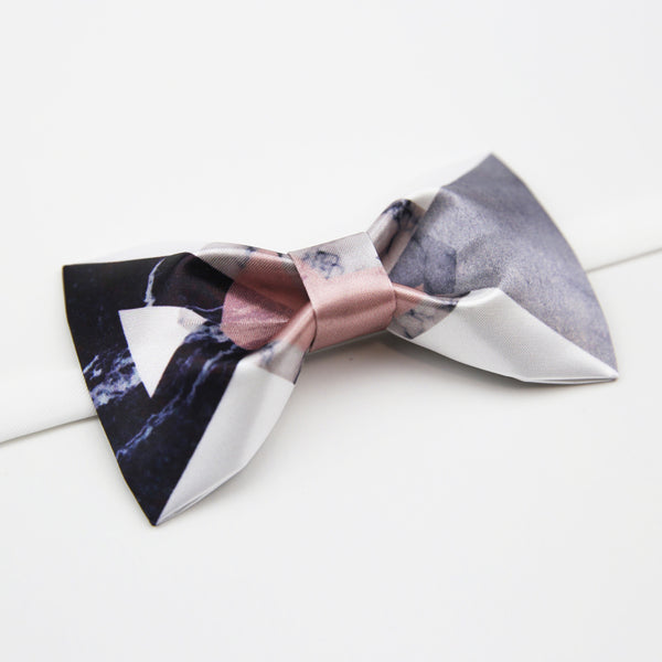 Marble Nordic Hand-Made Self Tie Bow Ties - socksADRION's