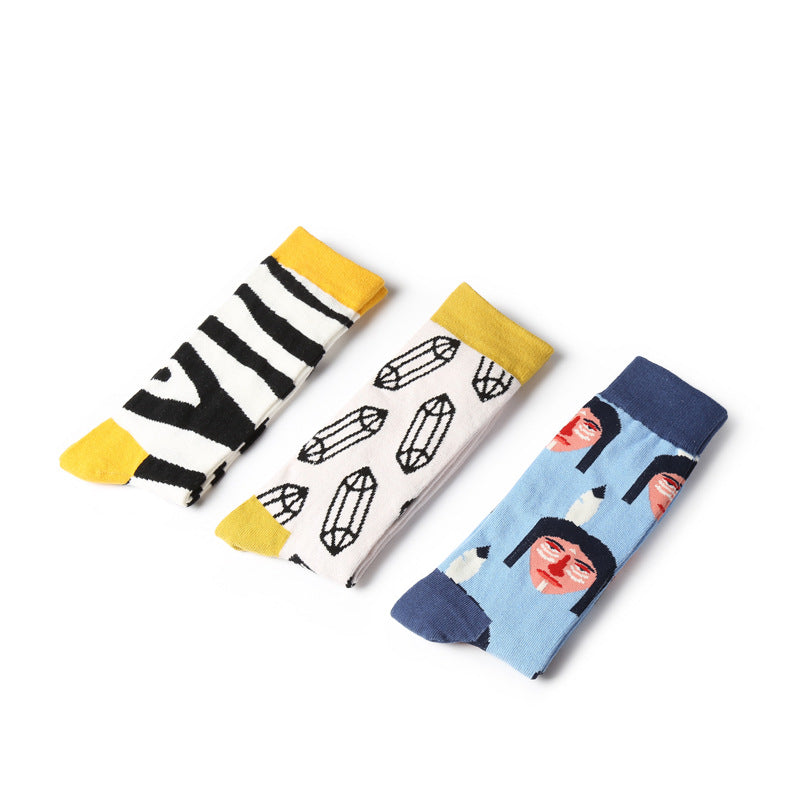 5 IN 1 Carton Design Pattern Design Socks Box - socksADRION's