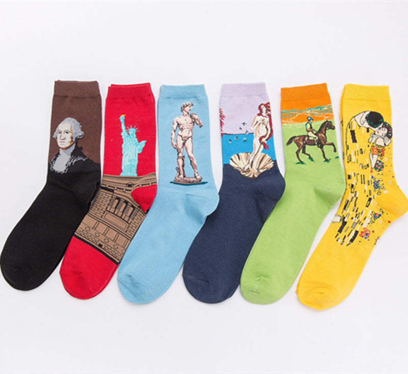Artist Painting Design Socks Ablum - socksADRION's