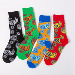 4 IN 1-Artist Mixed Insect Pattern Design Socks - socksADRION's
