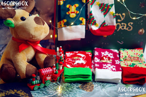 Rudolf's Christmas Secret Socks Gift Box -- A Socks Box