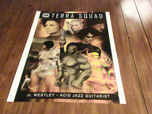 TERRA SQUAD Issue 1 Cover  18 x 24 Poster