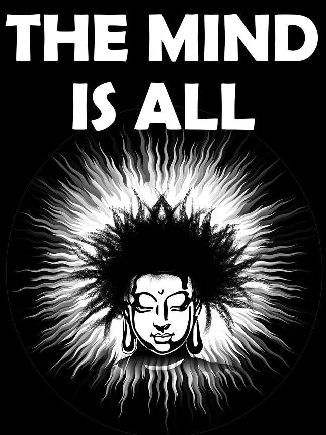 The Mind Is All 18 x 24 Poster