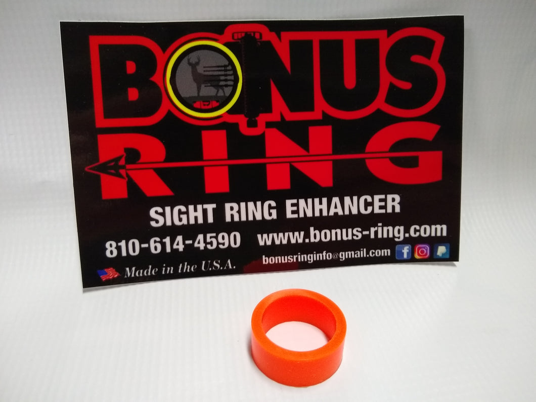 MINI Flo Orange Bonus Ring