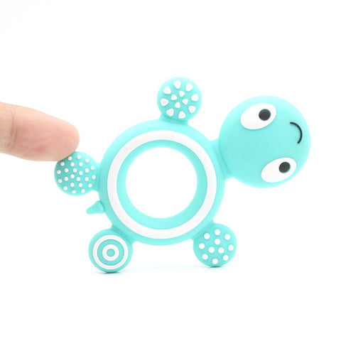 Silicone Tortoise Baby Teether