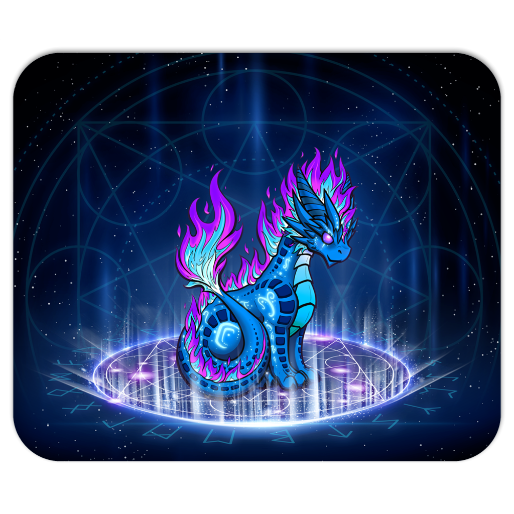 Arcane Dragon Mouse pad
